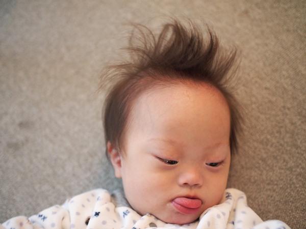 ダウン症,ブログ,散髪,ハサミ,短髪