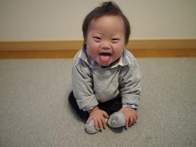 ダウン症,ブログ,お座り,1歳