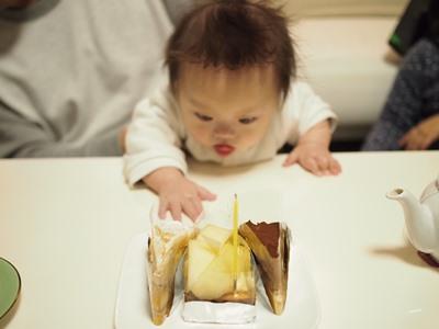 タルト,誕生日,ケーキ,ダウン症