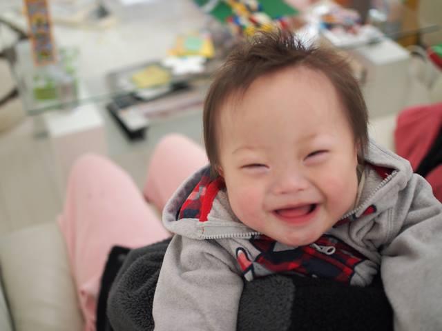 ダウン症,ブログ,アップ君,笑顔