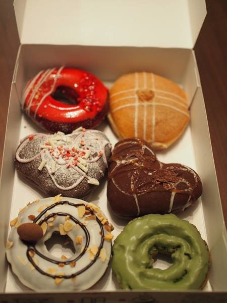 ダウン症,ブログ,ヴァレンタイン,バレンタイン,チョコレート,クリスピークリームドーナツ