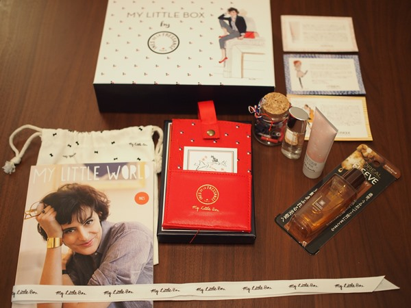 マイリトルボックス,My little box,2015年2月,イネス,ダウン症,ブログ