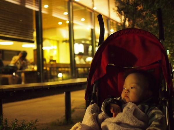 夜,大濠公園,息子,語り,スタバ,ダウン症,ブログ