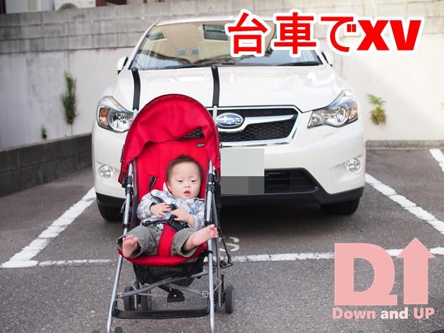 事故,アウトバック,XV,台車,運転席,ダウン症,ブログ