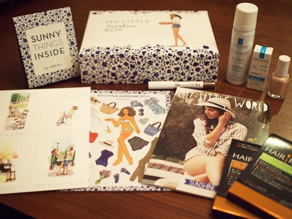 MY LITTLE BOX,女子力,5月号,essie,エッシー,ラロッシュポゼ,ヘアーレシピ,,ダウン症,ブログ