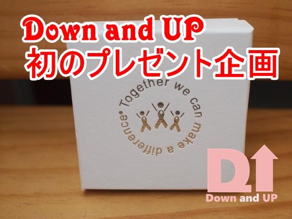 プレゼント,Awareness ribbon,ダウン症,Down syndrome,ピン,青黄,ブログ
