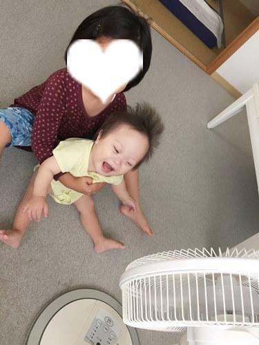扇風機,オススメ,子ども,遊ぶ,ワレワレハ,ダウン症,ブログ