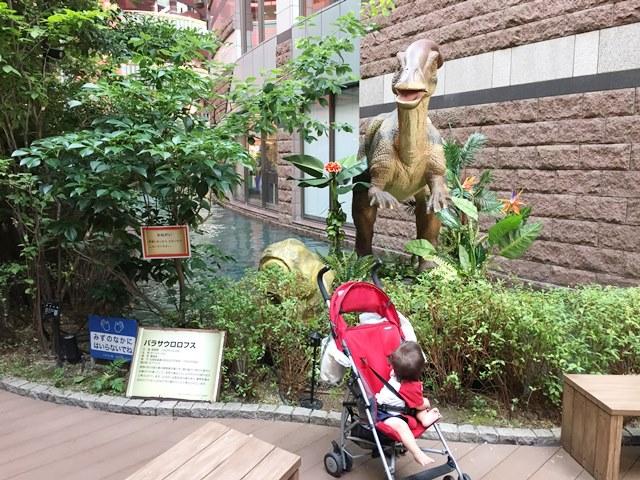 キャナルシティ,恐竜,ジュラシック,ワールド,スプラッシュ,水遊び,ダウン症,ブログ