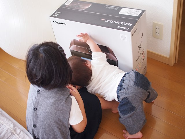 家電,故障,プリンター,買い替え,MP640,MG7530,茶色,家電好き,ダウン症,ブログ