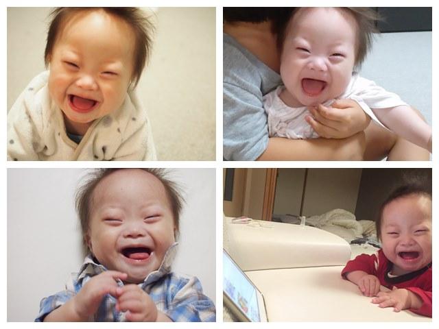 笑顔,スマイル,smile,萌,可愛い,ダウン症,ブログ