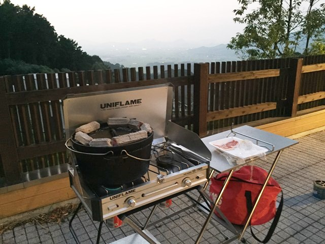 雷山の森,バーベキュー,BBQ,燻製,夜景,夏,花火,別荘,高級,ブログ,ダウン症