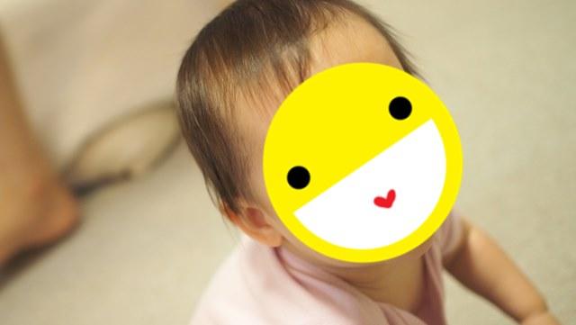 1歳,女の子,女児,散髪,断髪式,ムツオちゃん,ダウン症,ブログ