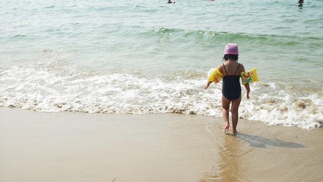 海,雷山,初めて,糸島,怖がる,ダウン症,ブログ