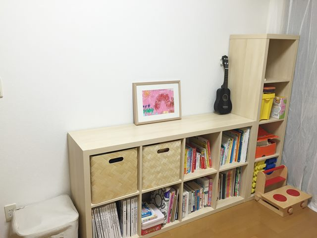 IKEA,本棚,模様替え,お姉ちゃん,ダウン症,ブログ