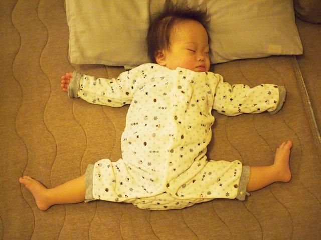 寝顔,赤ちゃん,アップ君,特集,ダウン症,ブログ