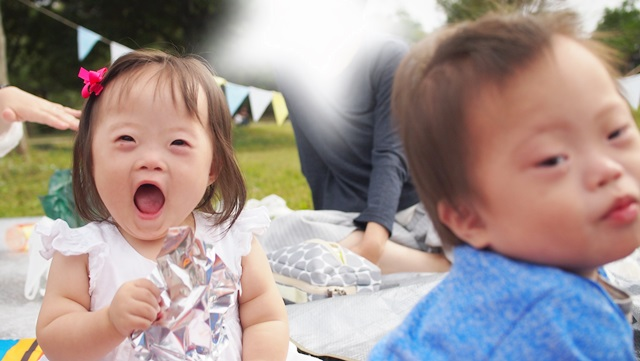 SMILE,粕屋郡,Sunny!!,大野城,アイランドシティ中央公園,アップ君,ピクニック,モチャ,ペンギン君,Kanaday,ダウン症,ブログ