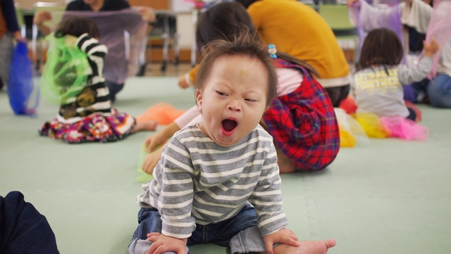 Sunny,リトミック,Kanaday,アップ君,ダウン症,ブログ