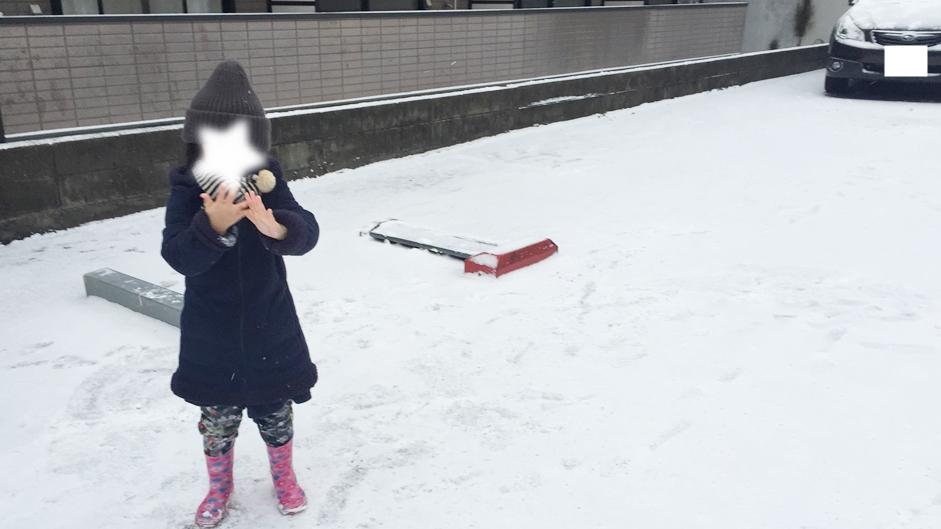 雪遊び,雪だるま,免許更新,ゴールド免許,ダウン症,ブログ