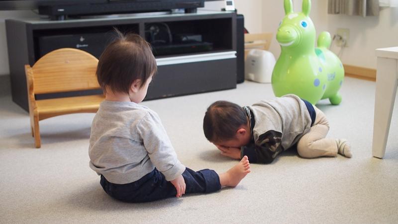 アラタン,来宅,同級生,2歳,ダウン症,ブログ