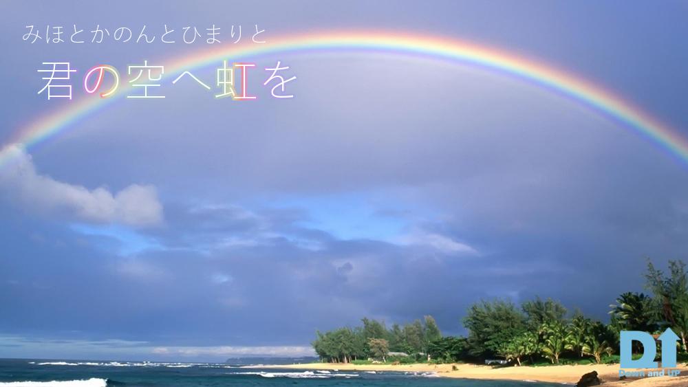 みほとひまりとかのんと,君の空へ虹を,SUPLIFE,寄付,ダウン症協会,ブログ