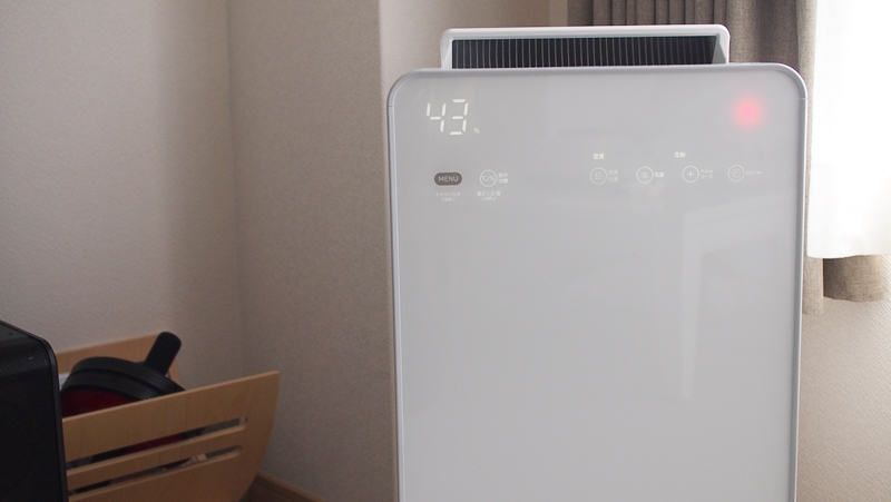 EP-LCG70,花粉,空気清浄機,開封,バルミューダ,ダウン症,ブログ