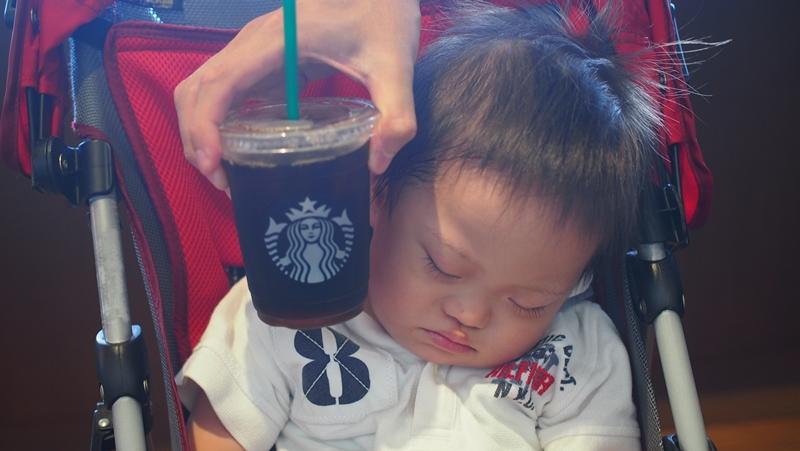 StarBucks寝てる