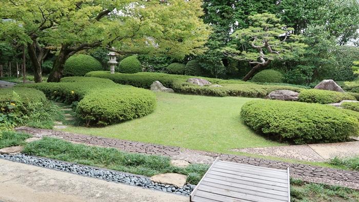 松風園の庭園