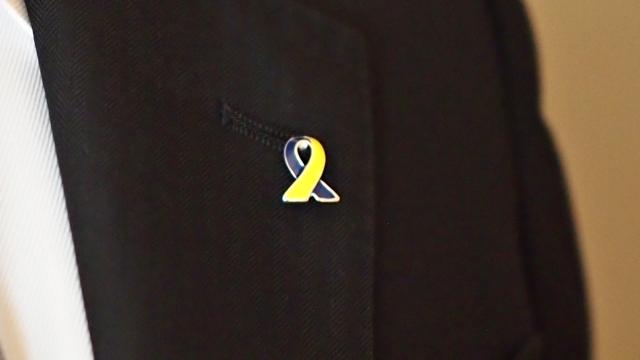 ダウン症,アウェアネスリボン,downsyndrome,awarenessribbon,支援表明,リボン