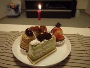 1歳の誕生日おめでとう